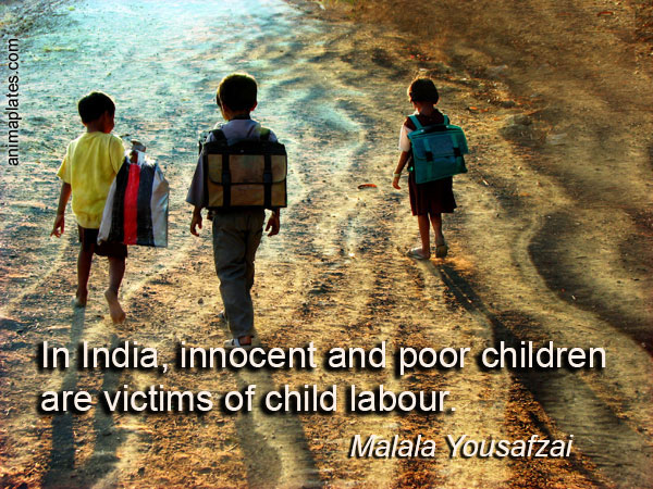 Quote For Child Labor: Victims Of Child Labour…