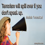 Terrorism will spill over