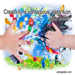 Creativity is contagious