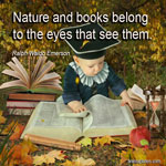 Nature and books