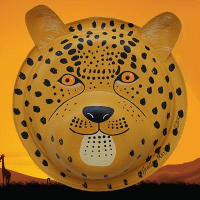 Cheetah Jaguar and Leopard Mask & Cheetah Jaguar and Leopard Mask | Craft Tutorial | Animaplates