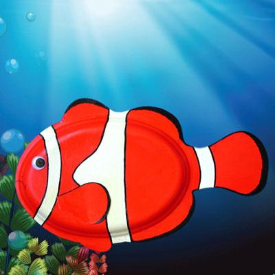 Clown Fish Craft Tutorial Animaplates