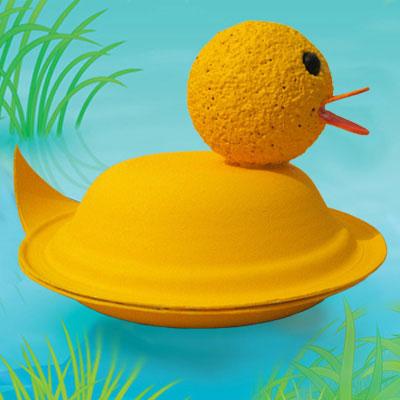 3-D Duckling