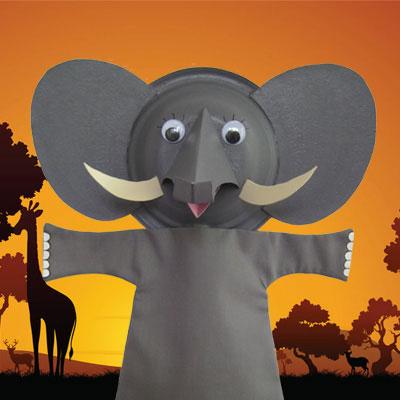 Elephant Puppet