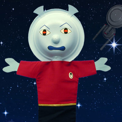 Spaceship Crew Puppets
