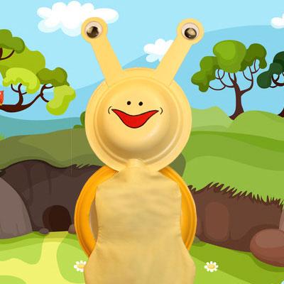 Snail Puppet