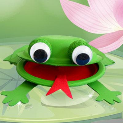 3-D Frog