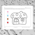 House (math and colouring)