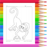 Monkey with hat