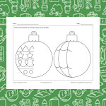 Draw Christmas Ornaments 1