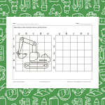 Draw an Excavator