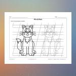 Pre-writing 35 (Cat)
