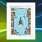 Animal Christmas Maze 2