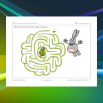 Rabbit and Carrot Maze