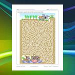 Rabbit Family Maze
