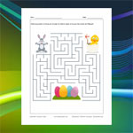 Chick and Bunny Maze