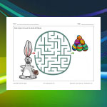 Easter Bunny Maze 2
