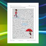 Umbrella Maze