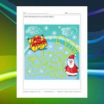 Santa's Presents Maze