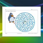 Penguin and Fish Maze
