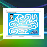 Penguin and Igloo Maze