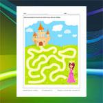 Princess and Castle Maze