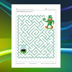 Saint Patrick's Day Maze 2