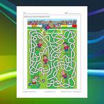 Soccer (Football) Maze