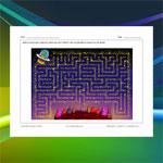 Flying Saucer Maze