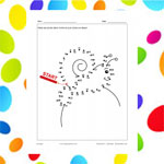 Snail (connect the dots)