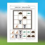 Australian Animals Sudoku