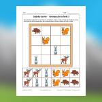 Forest Animals Sudoku 3