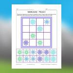 Snowflakes Sudoku 2