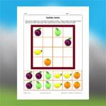 Fruits Sudoku 3