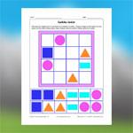 2D Geometric Shapes Sudoku