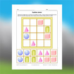 3D Geometric Shapes Sudoku