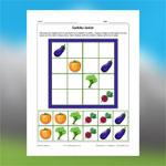 Vegetables Sudoku 1