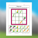 Vegetables Sudoku 2