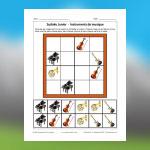 Musical Instruments Sudoku