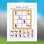 Winter Sports Sudoku