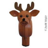 3-D Reindeer