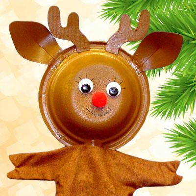 Reindeer Puppet