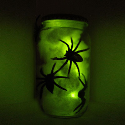 Scary Spider Jar