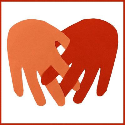 Tiny Hands Valentine Card
