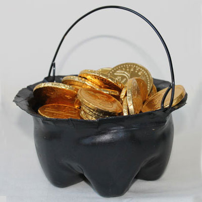 Pot Of Gold or Witches' Cauldron
