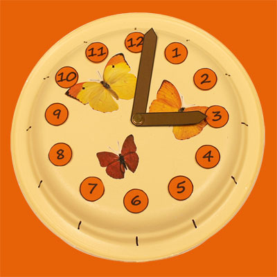 Clock for learning time