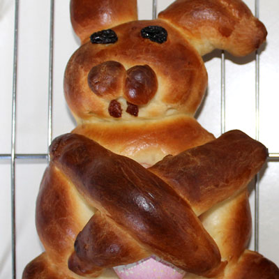 Bread Bunny Recipe