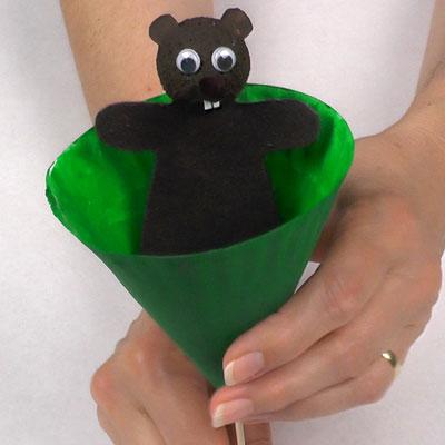 Simple Pop-up Puppet