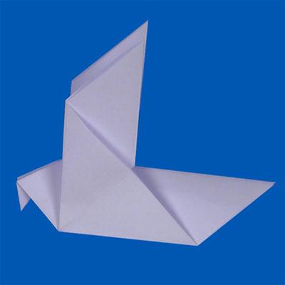 Origami Dove | Animaplates - photo#25