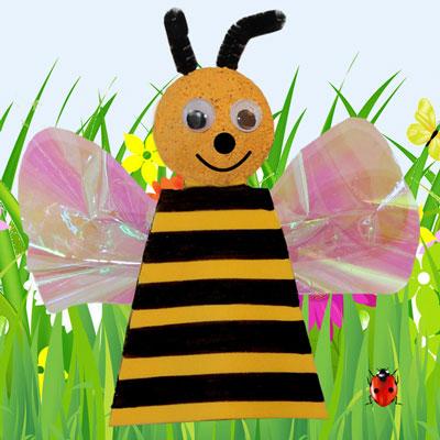 Bee Finger Puppet